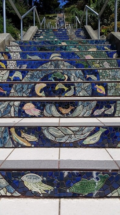16th and Morage Tiled Steps san francisco