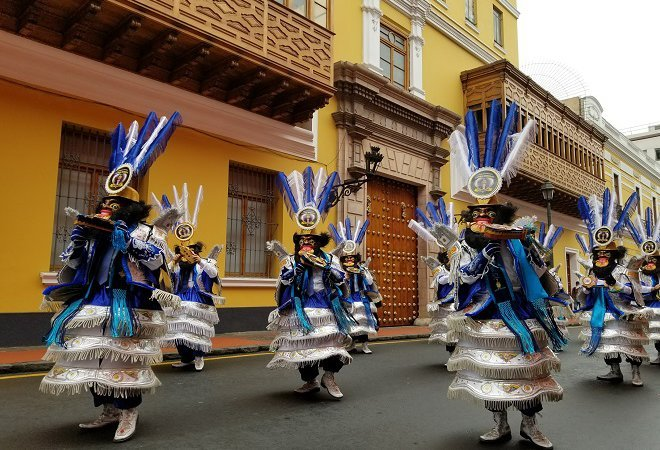 Lima Day of Folklore Parade
