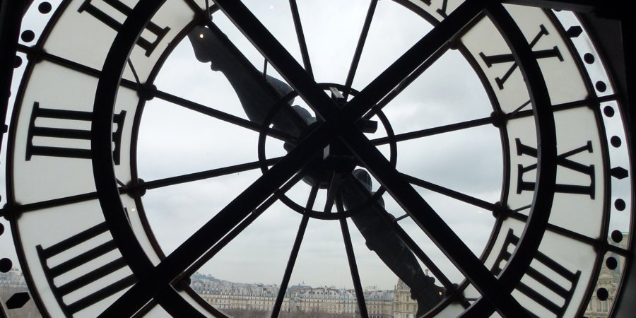 Paris clock