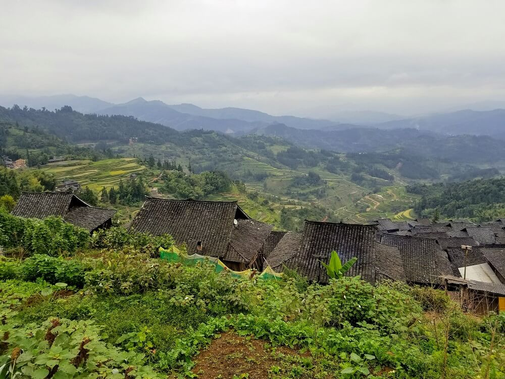 Basha Miao Village, Guizhou, China