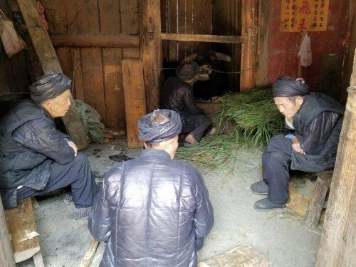 Xiaohuang Dong bullfighting