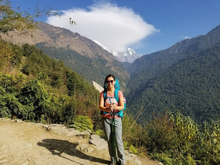 backpacking packing list Annapurna