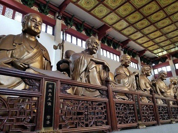 Lingyin Temple Hangzhou arhats