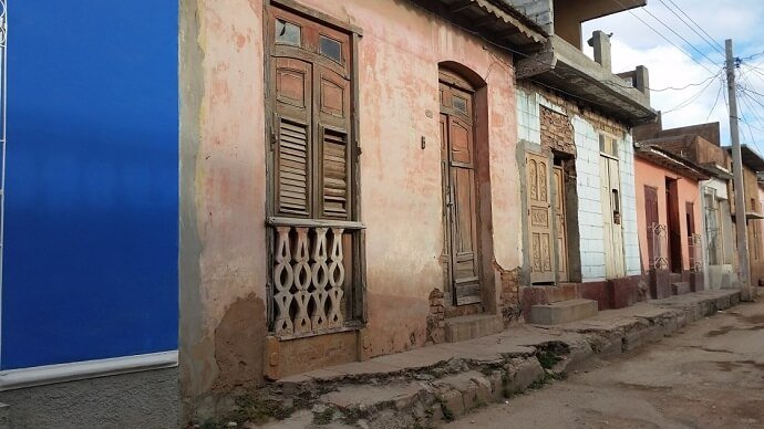 Trinidad Cuba colorful houses
