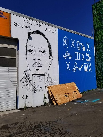 Kalief Browder memorial Portland