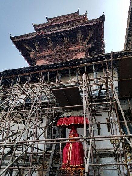 Kathmandu Durbar Square Hanuman Dhoka