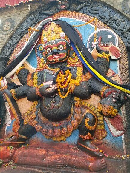 Kathmandu Durbar Square art
