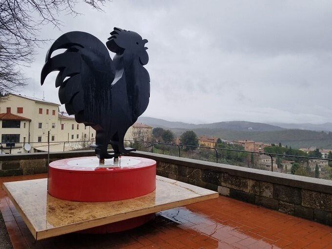 Chianti black rooster