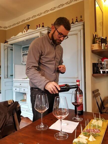 Fattoria di Montemaggio Chianti tasting