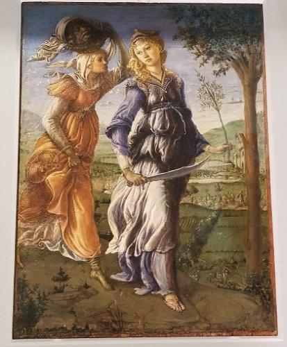 Uffizi Botticelli Judith Returns to Bethulia
