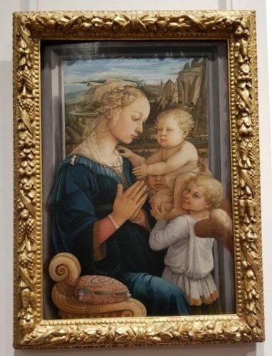Uffizi Lippi Madonna and Child