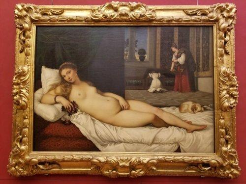 Uffizi Titian Venus of Urbino