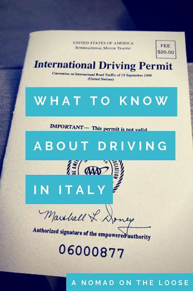 Driving in Italy: What You Need to Know Before You Go | A ...