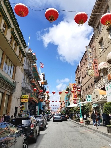 San Francisco Chinatown lanterns