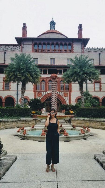Ponce de Leon Flagler College courtyard
