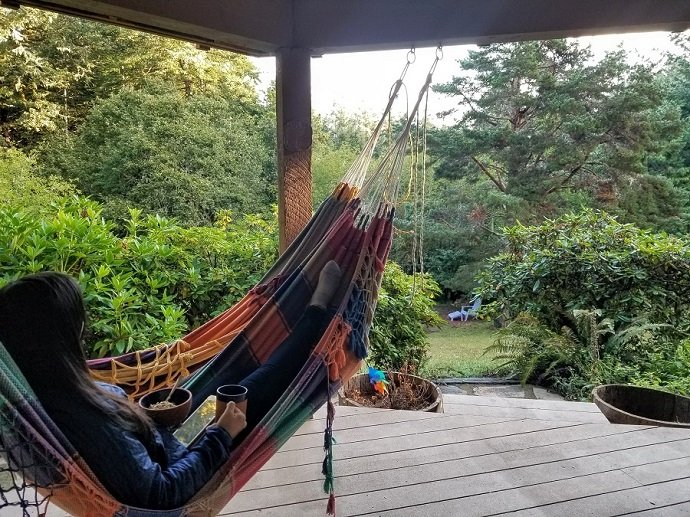 Hammock at Airbnb Philomath