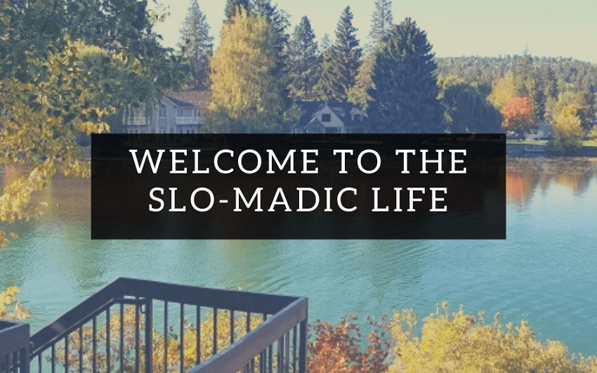 slomadic life update with autumn scenery