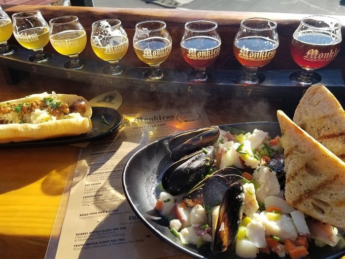 monkless brewing bend food