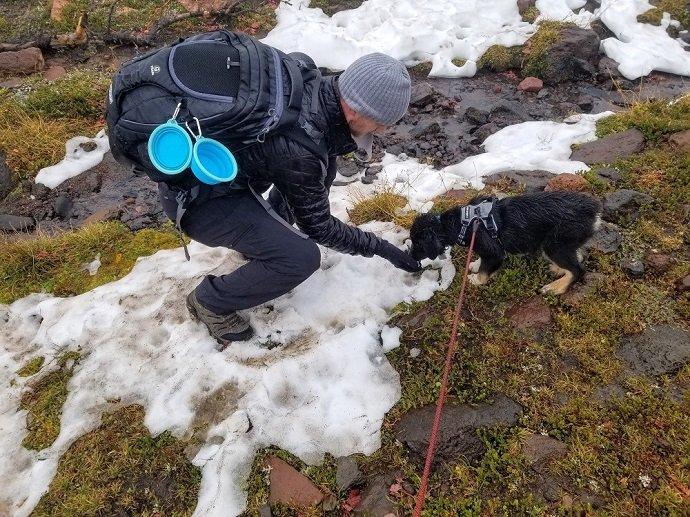 Broken Top Bend Oregon snow