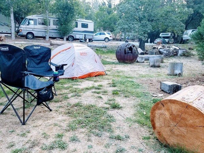 Yosmite camping