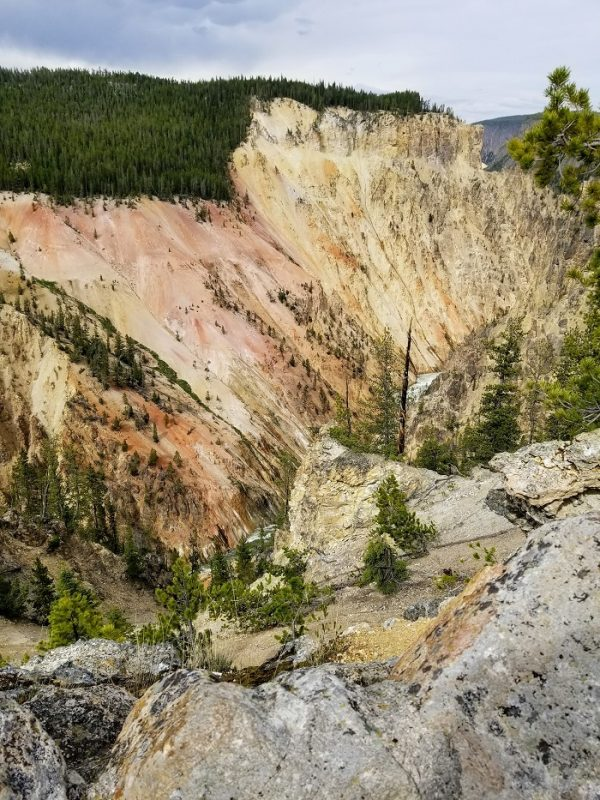 Artist Point Yellowstone Canyon