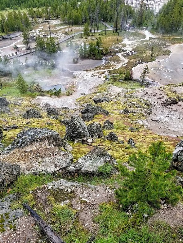 Blood Geyser Yellowstone