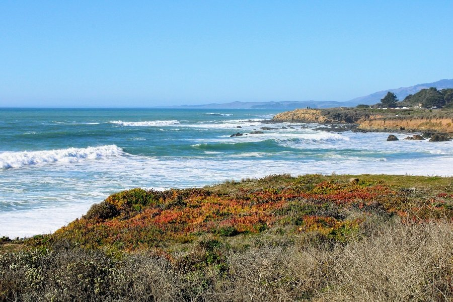 Cambria moonstone beach