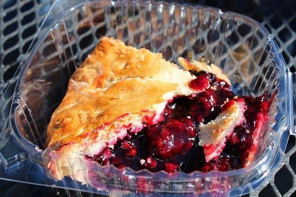 Linn's ollalieberry pie Cambria