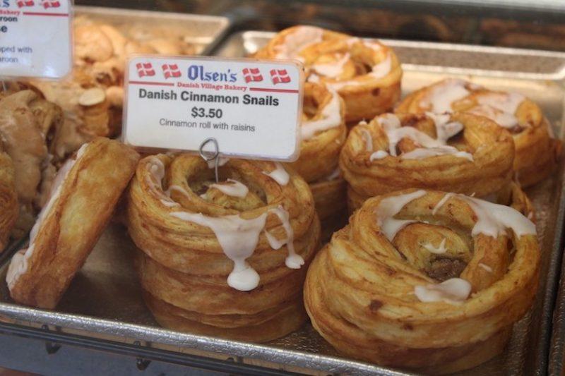 Danish bakery Solvang