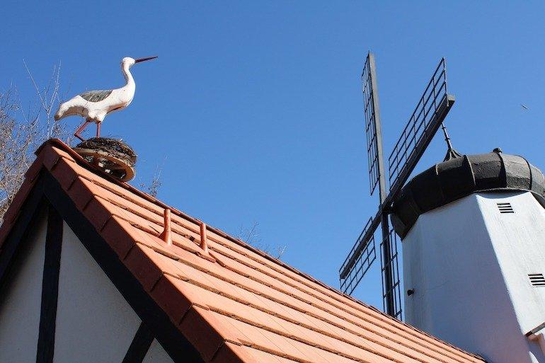 find storks in Solvang